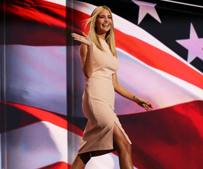 America's first daughter, 35-year-old Ivanka Trump.