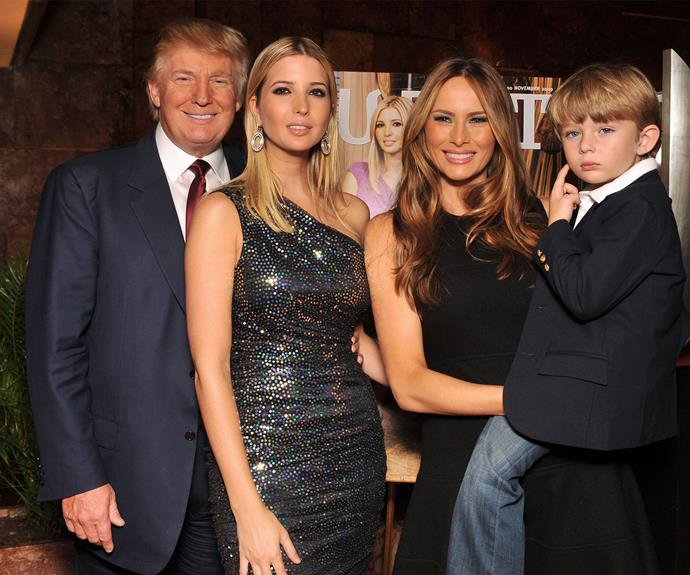 """Ivanka is definitely Donald's right hand woman, though she has said she has no political desires, """"I'm going to be a daughter!"""""""