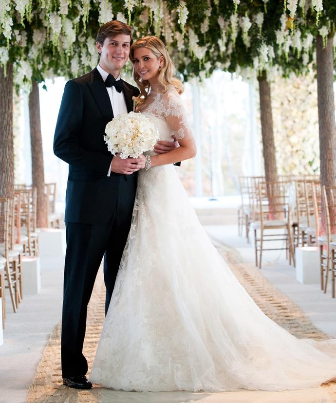 Mazel Tov! Ivanka and Jared made it to the alter in 2009.
