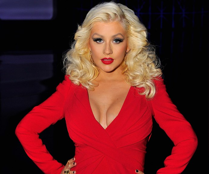 Christina Aguilera's regime embraces every colour of the rainbow - not just red!