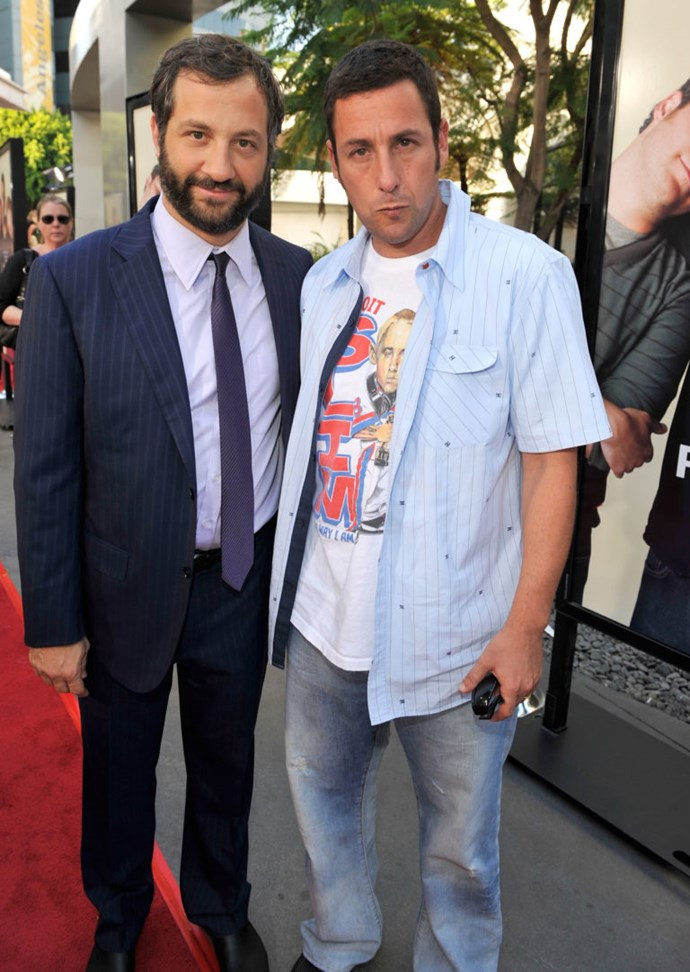 Judd Apatow and Adam Sandler shared a little home in California before they made it big