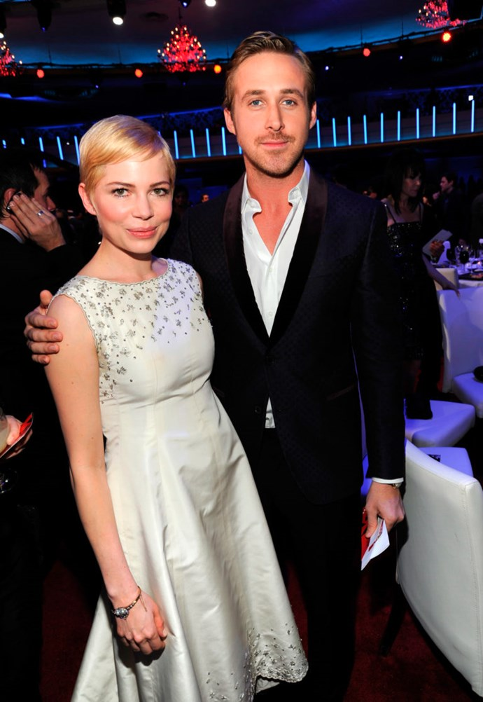 Michelle Williams and Ryan Gosling lived together briefly while filming Blue Valentine