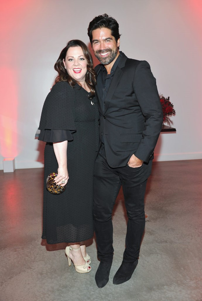 Melissa McCarthy and Brian Atwood went to High School together before shacking up in New York