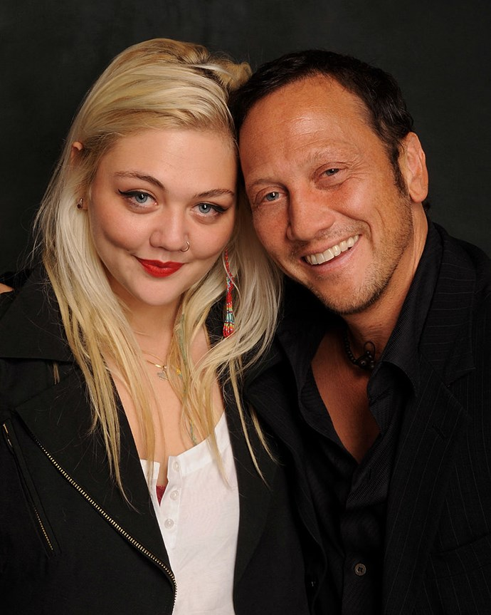 The EX and OH's singer Elle King is daughter to comedian Rob Schneider.