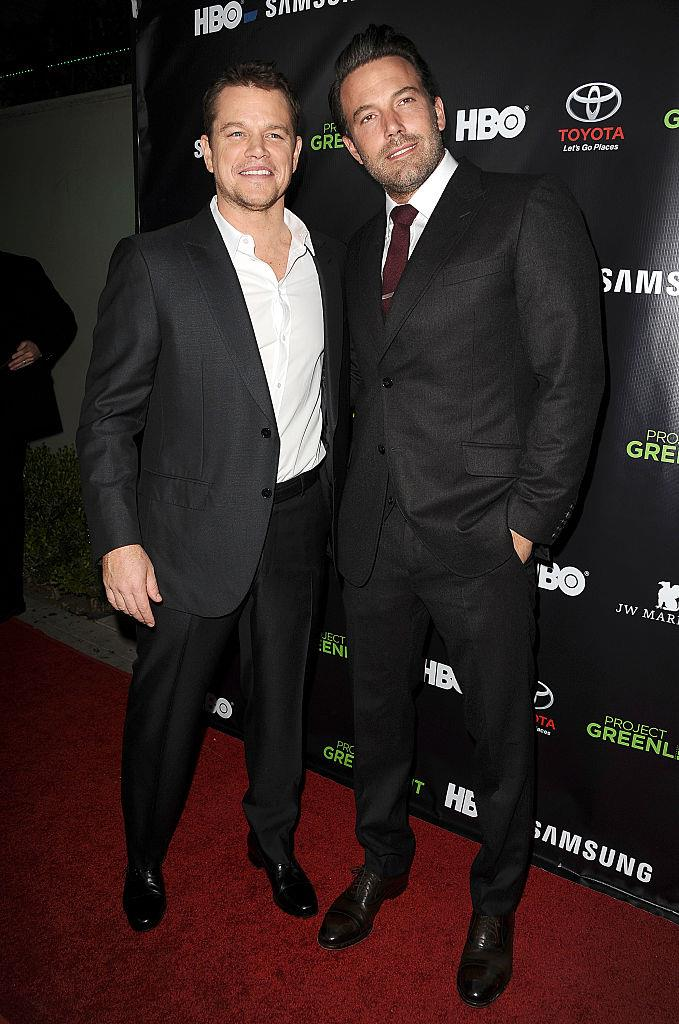 While everyone knows that Matt Damon and Ben Affleck have been best friends since grade school, they are actually tenth cousins as well.