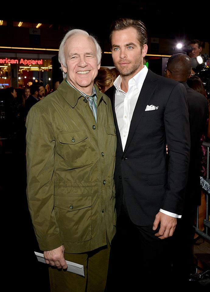 While the last name might clue us in that these two are related, many people still don't know that TV and film star Robert Pine, is the father of 'Captain Kirk', Chris Pine. There was a time that these two Hollywood superstars lived under the same roof.