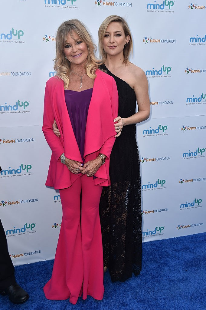 Kate Hudson and Goldie Hawn are actually mother and daughter.