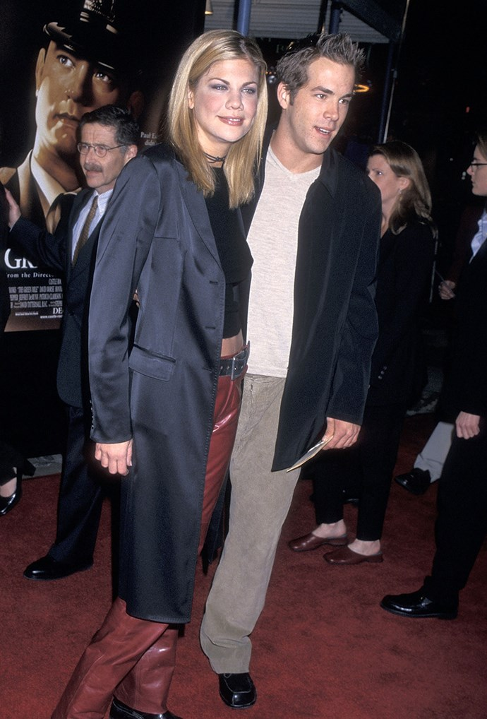 **Kristen Johnston & Ryan Reynolds**  Blake Lively was just 12 when her future hubby dated the 3rd Rock From the Sun actress in 1999.
