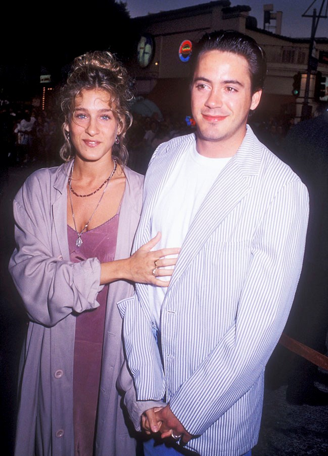 **Sarah Jessica Parker & Robert Downey Jr**  They were an It couple in the '80s, but they called it quits after the seven-year itch struck.