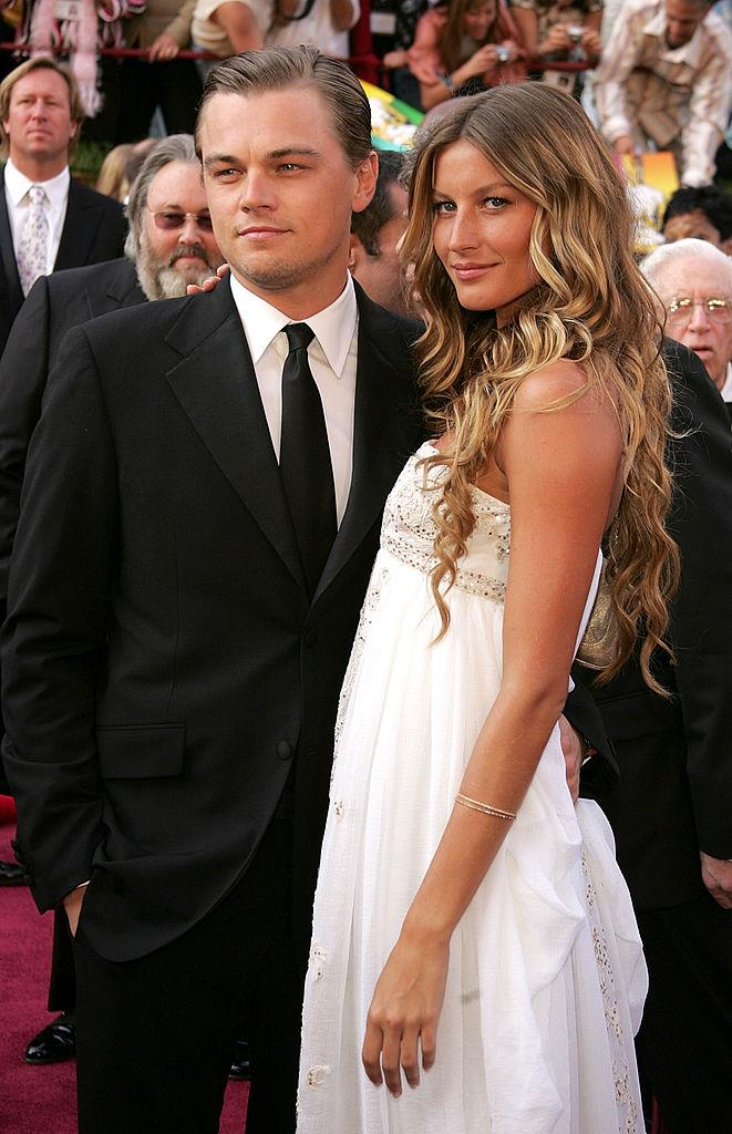 Leo and Brazilian model Gisele Bundchen were together for five years from 2000 – one of Leo's longest relationships yet. The two broke it off in 2005 on good terms.