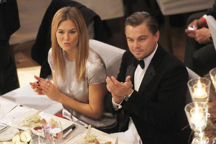 In 2005  Leo begun casually seeing Bar Refaeli who shared his passion for activism. They dated on and off for six years.