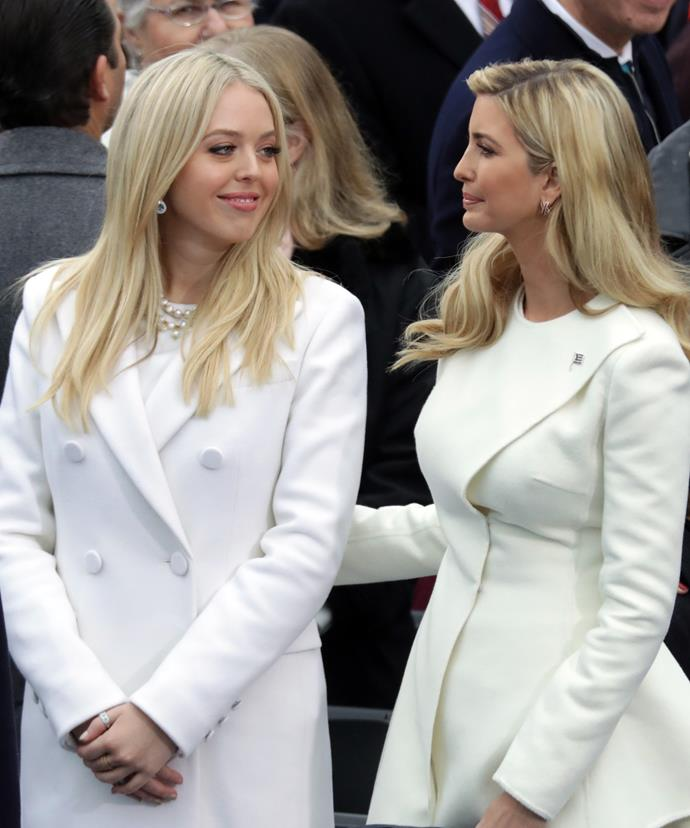 Half-sisters Tiffany and Ivanka have a complex relationship but have worked through their differences.