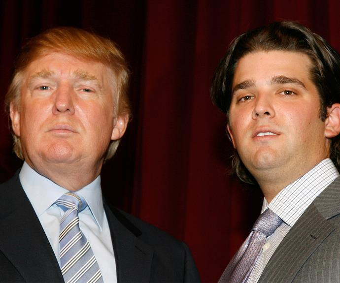 Donald Junior takes after his namesake in looks and personality.