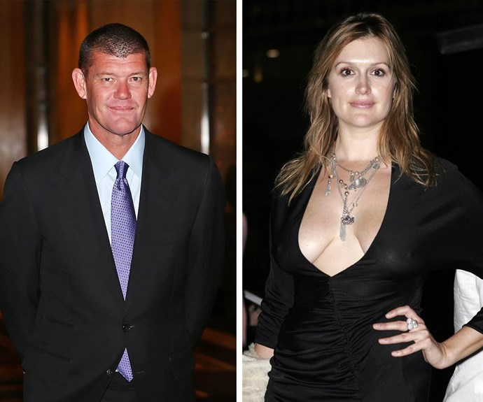 Many would remember the then Kate Fischer as James Packer's former fiance. *(Images L-R: Getty Images)*