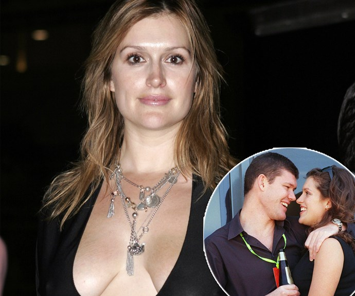 """""""You may remember me as Kate Fischer from back in the '90s when I was an It Girl. If anyone calls me 'Kate', 'Zippy' or 'Zip', they've got three strikes and they're out. I'll let them know. I did lots of television shows, a movie called *Sirens*, and I was also engaged to James Packer,"""" the star explained as she entered the jungle in 2017. *(Images: Getty Images)*"""
