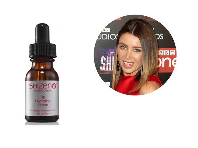 Dannii Minogue picked this under-the-radar Aussie brand as her lip conditioner of choice when filming *The X Factor* in the chilly UK. The organic oil blend easily spreads onto lips (1-2 drops is all you need) and sinks in quickly. *[Shizen LIP Hydrating Serum, $24.95](http://www.shizen.com.au)*