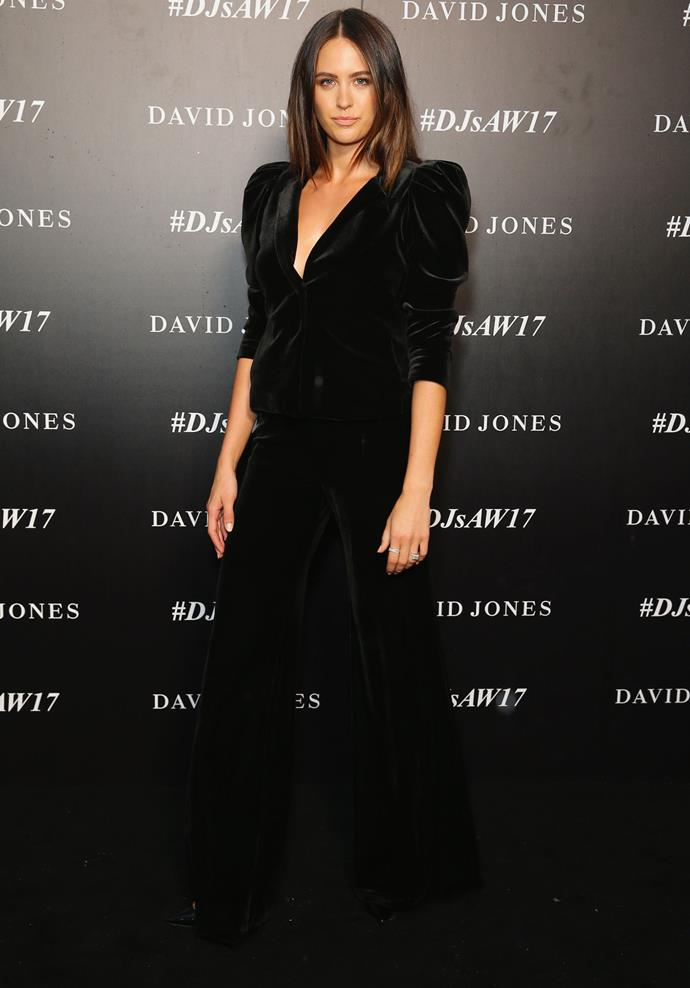 Jesinta owned the runway at the David Jones show.