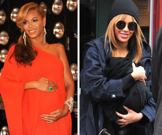 """After giving birth, I really understand the power of my body. I just feel my body means something completely different. I feel a lot more confident about it. Even being heavier, thinner, whatever. I feel a lot more like a woman. More feminine, more sensual. And no shame,' Bey has said. Congrats, we can't wait to meet your gorgeous twins."