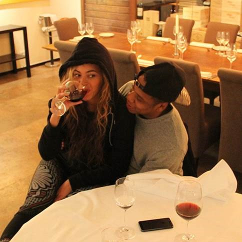 Bey and Jay Z - all wining, no whining!
