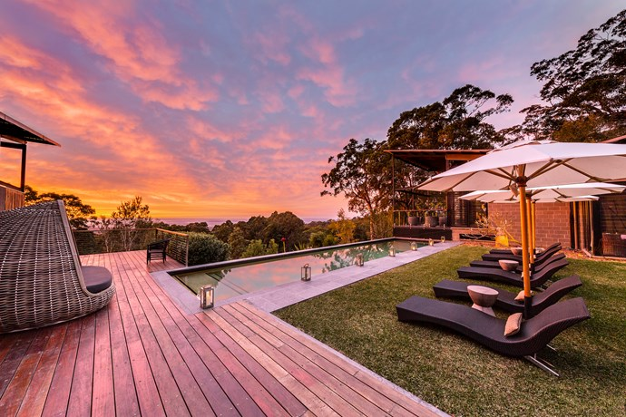 As well as natural serenity, Sangoma offers sauna facilities and a lap pool