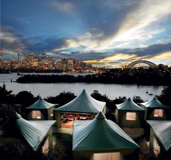 Taronga's Roar & Snore is Sydney's ultimate 'glamping' experience