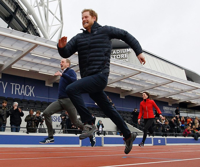 Harry was the fastest of them all!