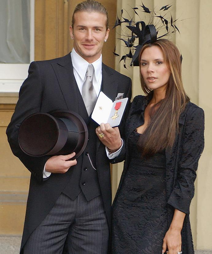 David received an OBE back in 2003.