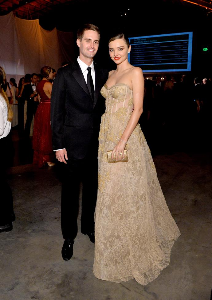Evan and Miranda attend the Fifth Annual Baby2Baby Gala together in November last year.