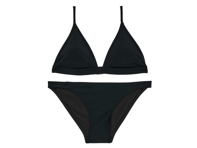 Bikini top, $34.95, and bottoms, $29.95, Bonds, bonds.com.au