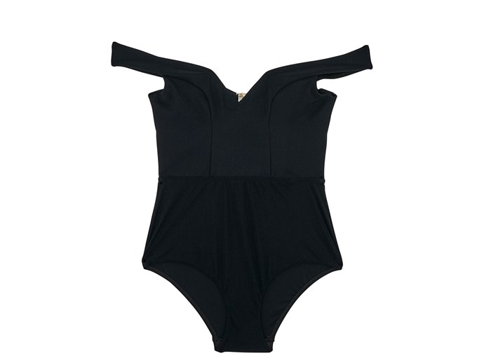 Swimsuit, $350, Zimmermann, zimmermannwear.com