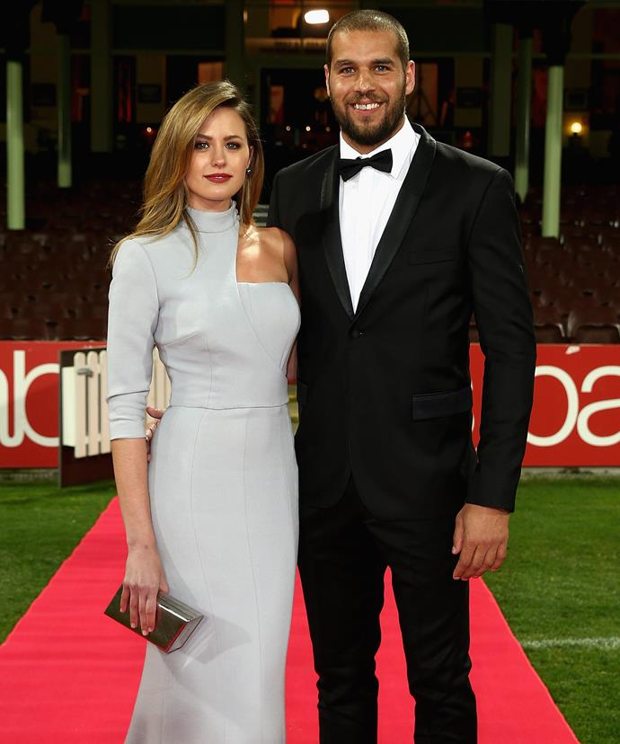 Jesinta with her leading man