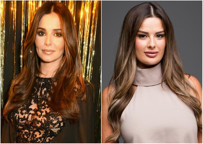 Bride Cheryl looks just like, er, Cheryl - Cole that is! The hair and facial features have us seeing double!