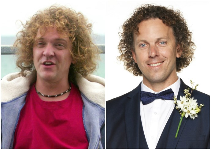 *MAFS* Simon's wild curly hair made us think of Chris Lilley's *Angry Boys* character Blake Oakfield straight away, as did the hilarious personality!