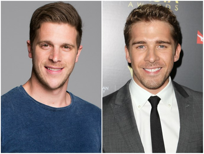 Anyone getting Hugh Sheridan vibes from *Married At First Sight's* Jesse? There's something about the face, the eyes, the smile, the jaw... the list goes on!