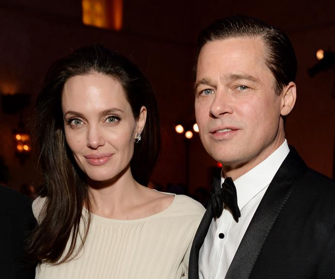 Angelina Jolie and her ex-husband, Brad Pitt, pre-divorce drama in 2016.