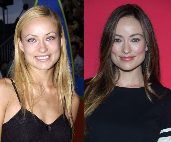 """Hands up if relate to Olivia Wilde's beauty mistake (everyone who lived through the 90s just raise your hand). """"When I was 5, after watching my dad shave, I took his razor and shaved my face — including my eyebrows. You look like an alien without eyebrows,"""" she told InStyle. """"Then, in my mid-teens, I plucked them to create that sexy Kate Moss arch. I regret it because I damaged my follicles, and now it's hard for me to grow thick, bushy brows."""""""