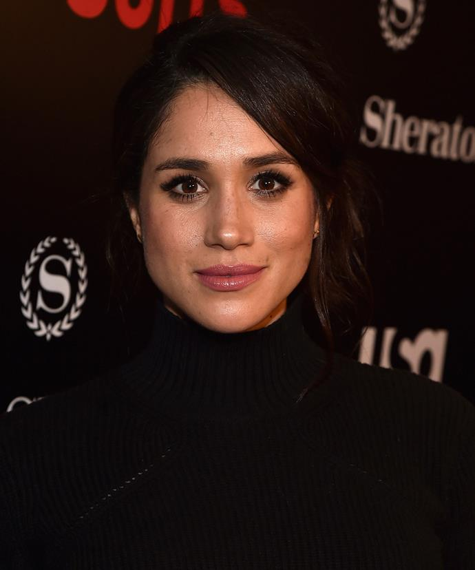 Meghan Markle, who plays Rachel on the show, is currently dating Prince Harry