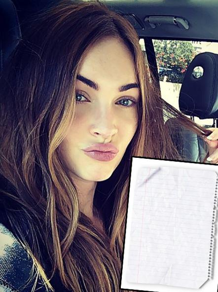 "[Megan Fox](http://www.nowtolove.com.au/celebrity/celeb-news/megan-fox-before-and-after-28038|target=""_blank"") is so afraid of [dry paper](https://www.buzzfeed.com/jessemfink/21-celebrity-phobias-that-will-make-you-feel-better-about-yo?utm_term=.rwPEONM8vE#.qyZzYl9kMz