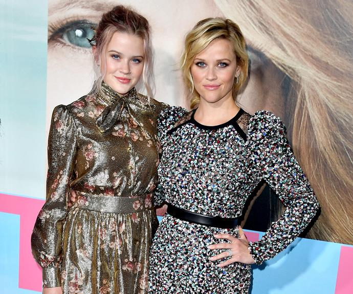 Reese Witherspoon's special date was her doppelgänger daughter, Ava Phillippe.