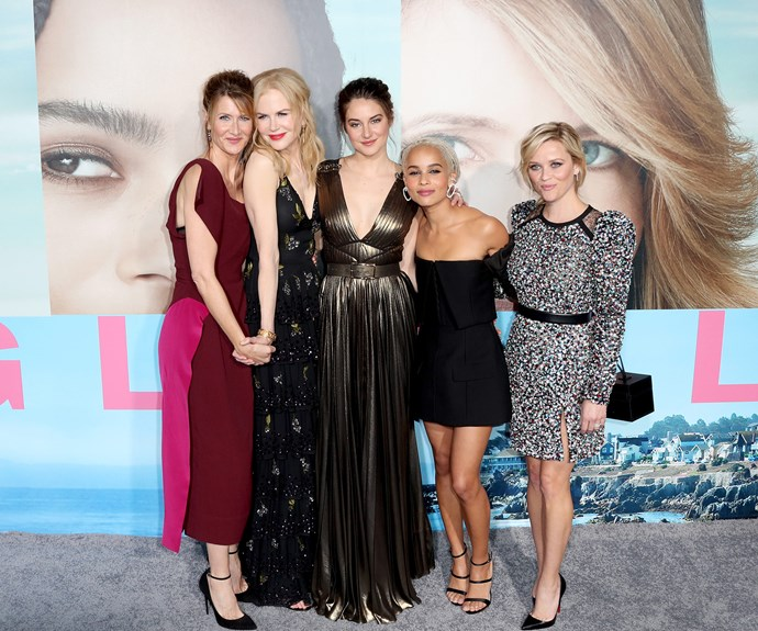 *Big Little Lies* follows the story of a group of school mothers and the dark underbelly of their every-day life.