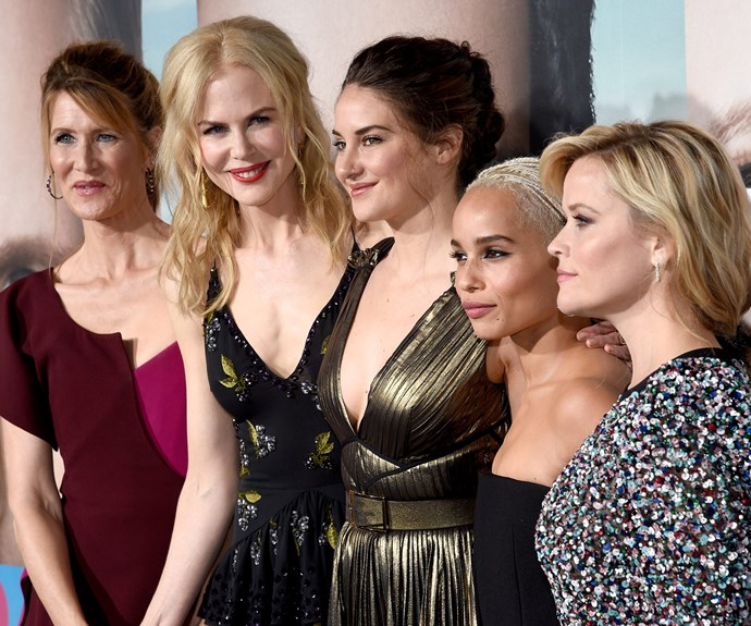 """""""For a minute we looked at this as a film. But it needs the time to do justice to the five women. We wanted the storylines to be evocative. We wanted them to be properly dealt with and to squeeze it into two hours would have been tough,"""" Nic, who starred and produced the series, explains."""