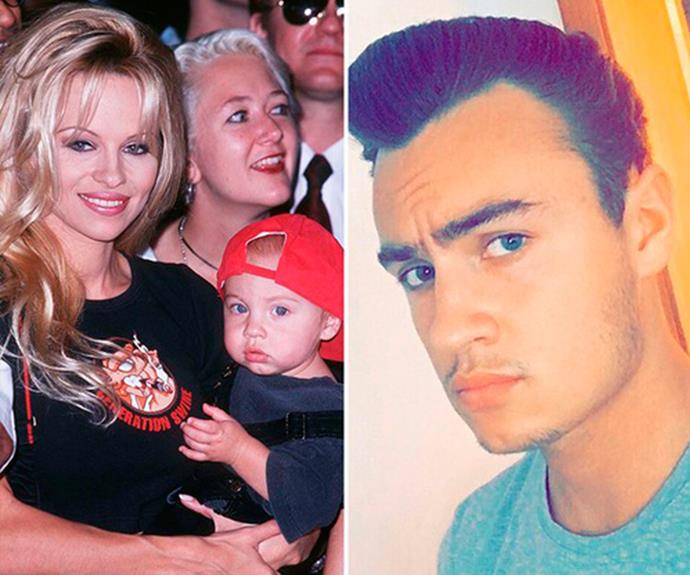 "**Brandon Thomas Lee - Pamela Anderson and Tommy Lee's son** <br><br> The 20-year-old aspiring actor can [thank his mum](https://www.nowtolove.com.au/lifestyle/daily-life/pamela-anderson-transformation-48082|target=""_blank"") for his model-worthy looks!"
