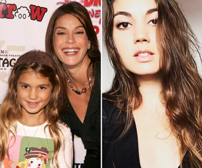 **Emerson Tenney - Teri Hatcher's daughter** <br><br> The 21-year-old is attended the prestigious Brown University in the US.