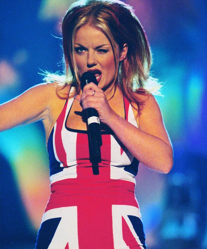 Don't worry Ginge, you'll always have the Union Jack dress.