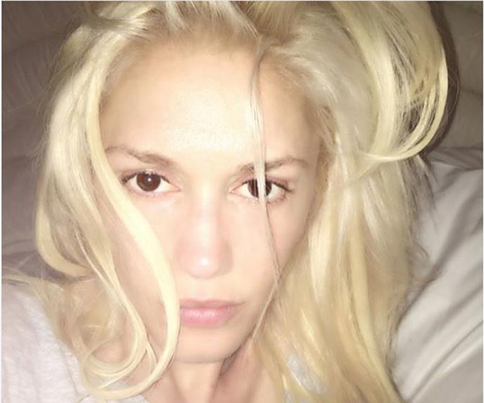 Gwen Stefani just [#wokeuplikethis](https://www.instagram.com/gwenstefani/?hl=en).