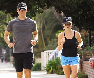 Reese Witherspoon running
