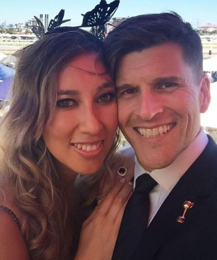 Osher gave his winning rose to Bachelor make-up artist Audrey and the pair married at the start of the year.
