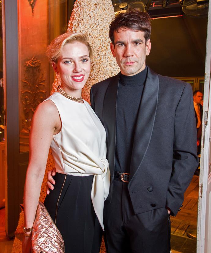 Scarlett and her ex-husband Romain.