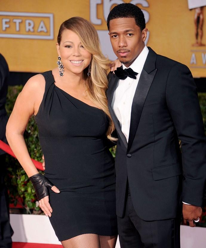 Mariah Carey and ex-husband Nick Cannon