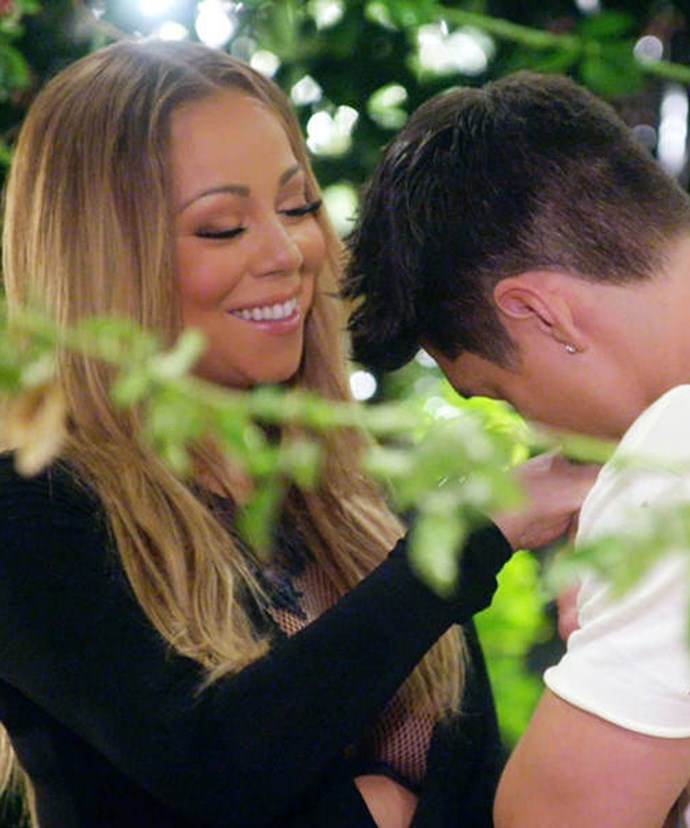 Nick's not convinced of Mariah and Bryan's new love.